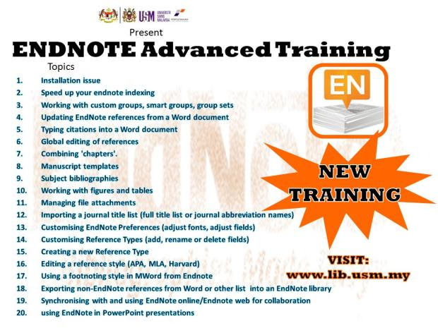 ENDNOTE AD